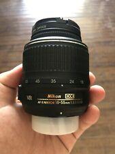 Nikon DX AF-S Nikkor 18-55mm 1:3.5-5.6G VR Lens with UV NO RESERVE