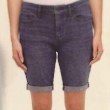 DKNY Jeans New Women's Roll Cuff Bermuda Shorts 5 Pocket