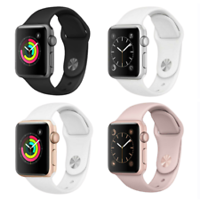 Reloj de Apple serie 2 - 38mm 42mm-Plata Oro Rosa Gris Aluminio GPS Reloj inteligente