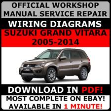 # OFFICIAL WORKSHOP Service Repair MANUAL for SUZUKI GRAND VITARA 2005-2014 #