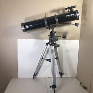 Meade Polaris Reflector Telescope 114EQ-D:114mm/F:900mm f/8 W/ Alum Tripod *Read
