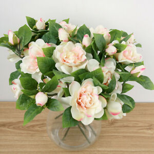 [JB] 4 Colors Available With Real Touch Peony Artificial Flowers - Home Decor