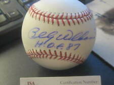 Billy Williams Autograph Official MLB Baseball Chicago Cubs HOFer JSA COA*