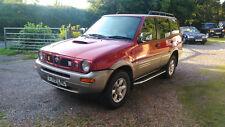 1999 Nissan Terrano II ( 2 ) 2.7 TDI SE Touring 7 Seat Auto 81K Miles 4x4 £1800