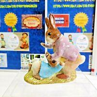 Beatrix Potter Mr. Benjamin Bunny & Peter Rabbit 1975 Beswick England #1