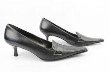Zapatos NAVYBOOT En Piel Negro T 39 MUY BUEN ESTADO