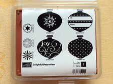 Stampin Up DELIGHTFUL DECORATIONS, Christmas New! UM