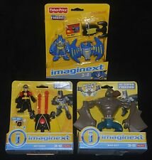 BATMAN Bat Flight Wing, RED ROBIN & MANBAT Imaginext w Dings