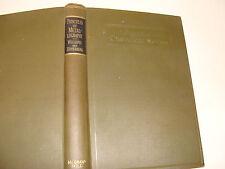 Principles of Metallography Physical Metallurgy 1928 Williams & Homerberg