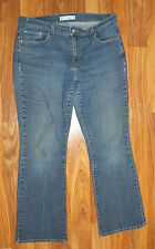 Women's 12 Med Levi's Boot Cut 515 Stretch Denim Jeans