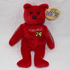 Nascar 23 Karat Gold'n Bears Stuffed Animal Jeff Gordon 8 Inches