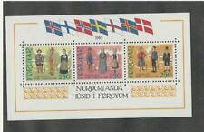 Faroe Islands, Postage Stamp, 101 Sheet Mint NH, 1983 Flags