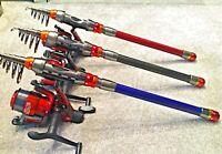 BADEO TRAVEL FISHING ROD & REEL,LINE /  BARBEL CARP ROD  WAGGLER ROD