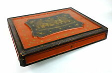 Große Kiste Chinalack um 1890 China Kasten
