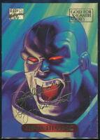 1994 Marvel Masterpieces Gold Signature Trading Card #1 Apocalypse