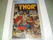 Thor #137 (1967) CBCS (like CGC) 8.5 FIRST APPEARANCE OF ULIK. Off WT-White pp!!