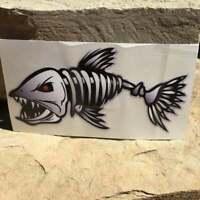 Decals / Stickers / Fishing Stickers / Fish Bones / Fish Skeleton / Skull / Fish