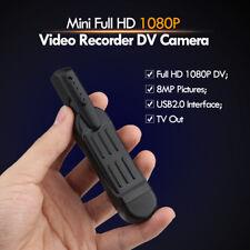 Full HD 1080P Mini Pocket Voice Recorder Cámara de video digital DVR +32GB Card