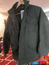 Alpha industries m-65 field coat Olive Green Size Medium VG condition