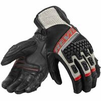Revit Sand 3 trial motorcycle adventure touring ventilated gloves Leather