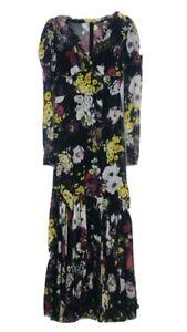 dolce gabbana Puff Shoulder Maxi Dress
