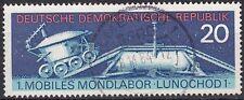 DDR Mi.-Nr. 1659 gestempelt 20 Pf. Erstes mobiles Mondlabor Lunochod 1