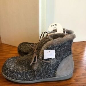 Sonoma Good for Life gray slipper booties 9 - 10