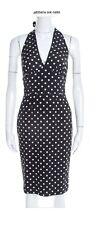 Dolce And Gabbana (mainline) Silk Halter Neck Dress. RRP £2984. Size It 44.