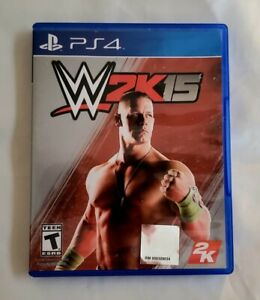 WWE 2K15 PS4 Sony Playstation 4 Wrestling Tested John Cena Triple H