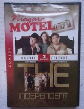 NIAGARA MOTEL & THE INDEPENDENT DOUBLE FEATURE DVD FREE SHIPPING