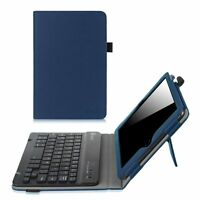 For Apple iPad mini 3 2 1 Folio Case Cover Stand w/ Wireless Bluetooth Keyboard