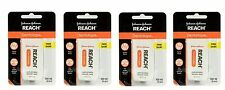 Reach DentoTAPE Waxed Ribbon Dental Floss, 100-Yard Dispensers (Pack of 4)