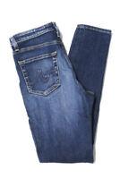 AG Adriano Goldschmied Womens High Waist Skinny Leg Jeans Medium Wash