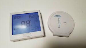 PRO1 IAQ T955WH Thermostat, 7 Day Programmable, Stages 3 Heat/2 Cool