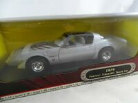 1:18 Road Signature #92378 1979 Pontiac Firebird Trans Am Plata - Rareza§