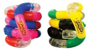 Genuine Tangle TEXTURE Junior Highly Tactile ASD Hand Therapy Fidget Stress Toy
