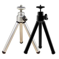 1 X Metal Portable Mini Light Table Top Stand Tripod Grip Stabilizer For Came TB