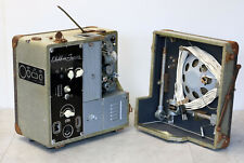 Foton Elektor Junior 16 mm Filmprojektor mit Röhrenverstärker und Lautsprecher