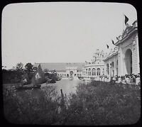 Glass Magic Lantern Slide WORLDS COLUMBIAN EXPOSITION NO29 1893 PHOTO CHICAGO