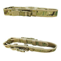 Molle Tactical Belt 2 Pistol Mag Pouch Duty Belt - MULTICAM