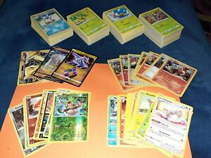 Pokemon 400+ cards ALL DIFFERENT 1999-2020 Sword & Shield Bundle Big Lot