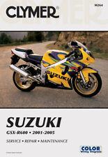 CLYMER Repair Manual for Suzuki GSXR 600 GSXR600 2001-2005