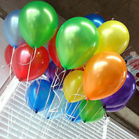 100 pcs 10 inch PLAIN LATEX BALLOONS Party Wedding Decorations Hot