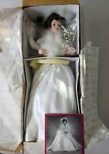 """Ashton-Drake Galleries """"Winter Romance"""" Porcelain Bride Doll"""