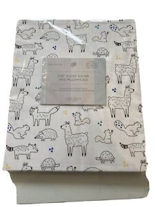 John lewis Llama Cot Duvet Cover & Pillow Case Brand New