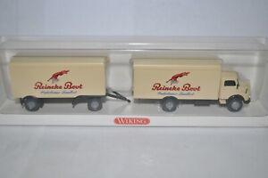 """Wiking 0852 40 MB L1113 Koffer-Lastzug( """"Reineke Brot"""") for Marklin NEW w/BOX"""
