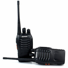2x Baofeng Walkie Talkie Long Range 2 way Radio UHF 400-470MHZ 16CH Earpiece EU
