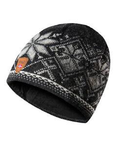 DALE OF NORWAY Geiranger Merino Wool Beanie Hat - Made in Norway