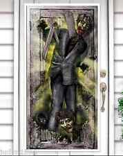 ZOMBIE DOOR COVER HALLOWEEN HORROR PARTY HANGING DECORATION POSTER WALKING DEAD