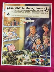 VEDES ..umfangreicher Spielwaren-Katalog .um 1939/40 (mit Militär,Schiffen,etc)
